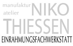 manufaktur + atelier Galerie Niko Thiessen Rahmen und Grafiken